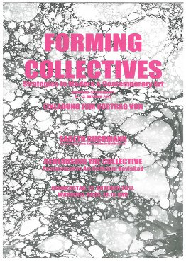 CfP: Forming Collectives: Strategies in Modern and Contemporary Art