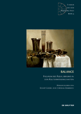 Just published: Balance. Figuren des Äquilibriums in den Kulturwissenschaften